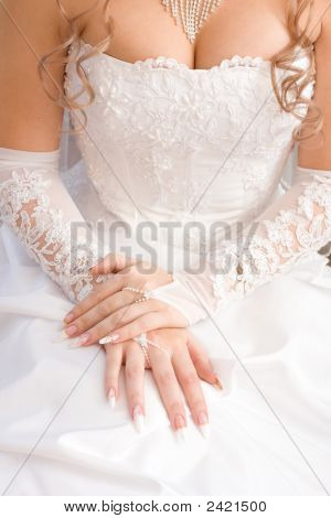 Bride'S Decollete