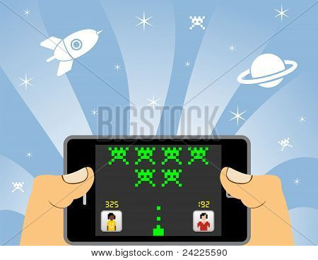 Smart Phone Online Gaming