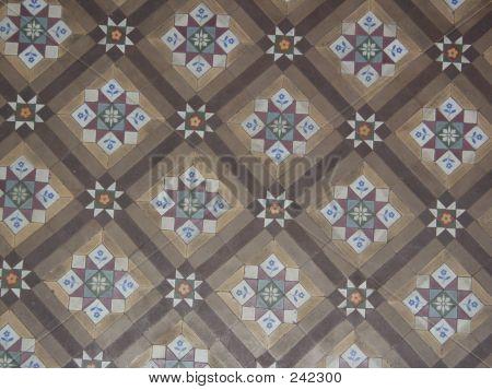 Ornate Tile Floor