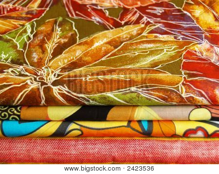 Colored Textiles For Sewing