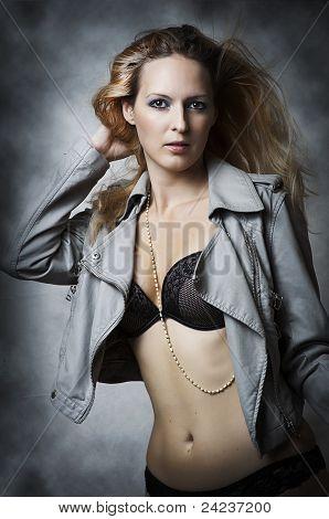 Sexy Underwear Female Model