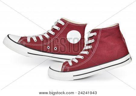 Zapatillas rojas
