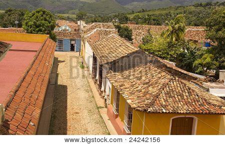Typical Colonial Street, Trinidad, Cuba