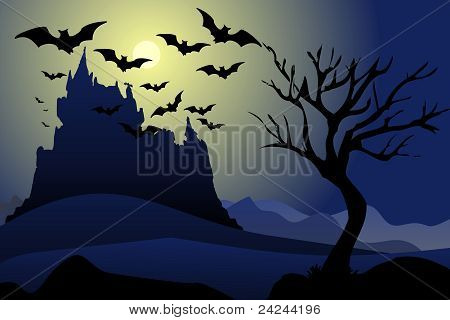 bats in the night