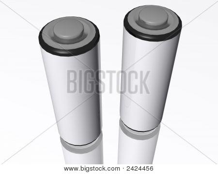 3D Aa Batterys