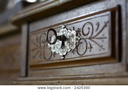 Key In A Keyhole