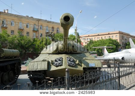 Heavy Tank Is-3 Of Times Of The Second World War.