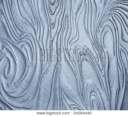 Abstract Organic Glass Texture