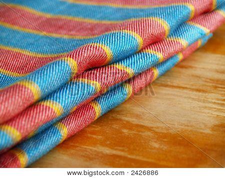 Striped Linen Textile