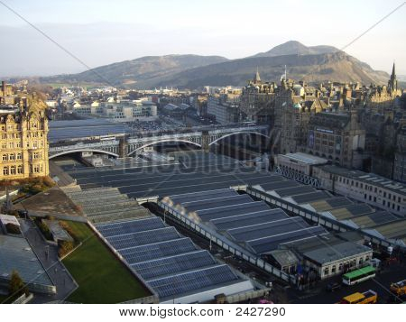 Over Waverley Station