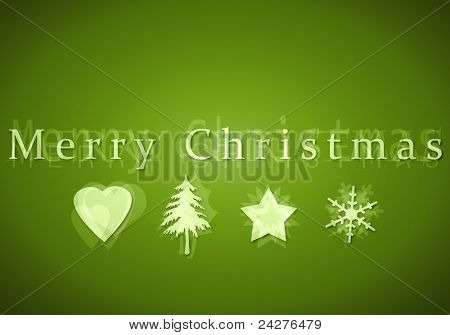 An image of a nice merry christmas postcard