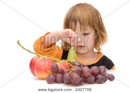 Los niños deben comer frutas!