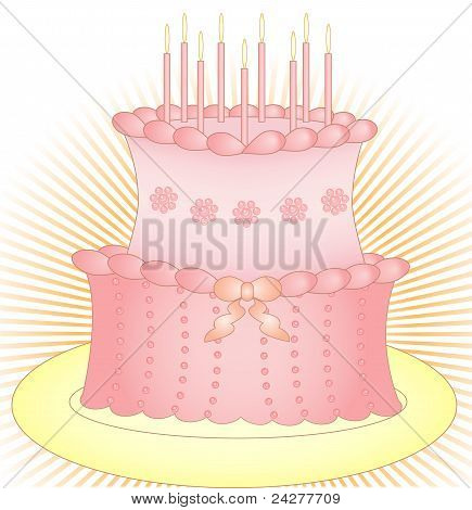 Cake With Candles