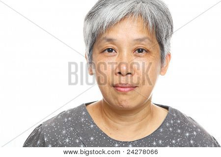 mature asia woman