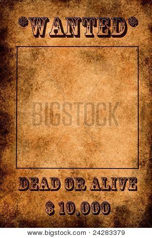 Vintage Grunge querido cartel