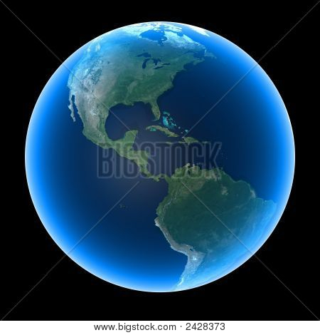 Planet Earth - America