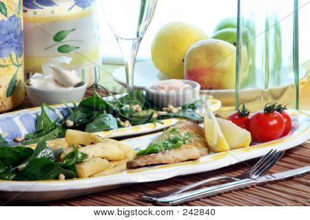 Sea Bream Dinner 5