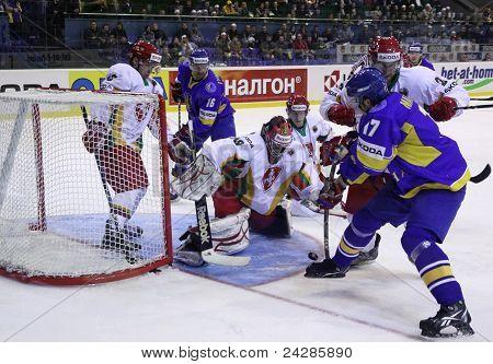 Ice-hockey. Ukraine vs Lithuania