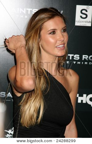 LOS ANGELES - OCT 12:  Audrina Patridge arriving at the