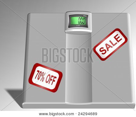 Scale on sale