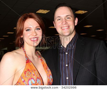 LOS ANGELES - JUN 21:  Maitland Ward, John T. Baxter at a booksigning for