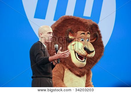 Las Vegas, Nv - June 5, 2012: Dreamworks Animation Ceo Jeffrey Katzenberg Delivers An Address To Hp