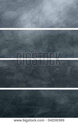 4 metallic Tetxures