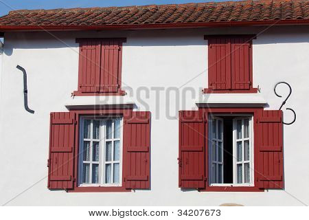 Windows In Espelette