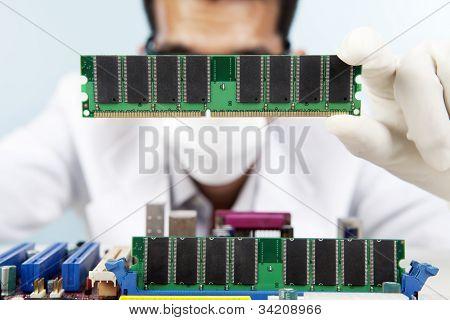 Installing Computer Memory