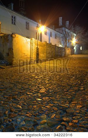 Old Town In The Night