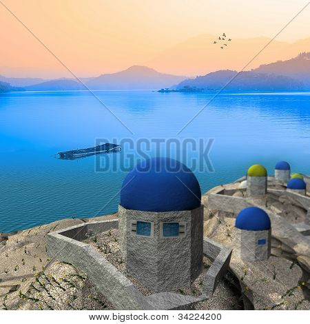 beautiful Greek style picture