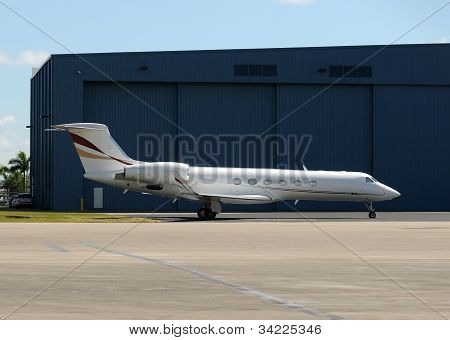Corporate Jet Airplane