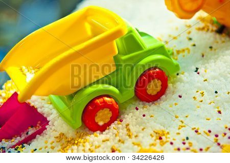 Colour Toy Car