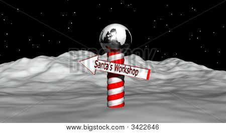 Directions To Santa Workshop