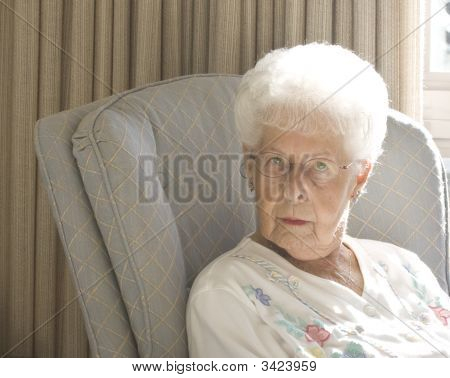Senior Woman Expressive