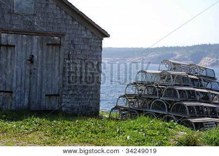 Lobster Pots Stack And Shack