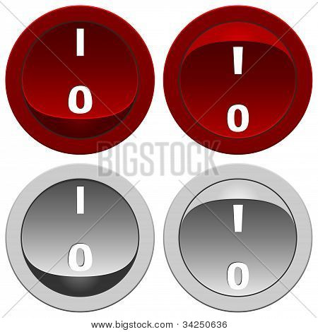 Switch Buttons Set