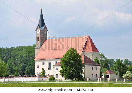 Church St. Simon And Judas Thaddäus In Moos (kurzenisarhofen), Bavaria