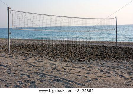Beach-Volleyballplatz