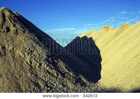 Piles Of Dirt