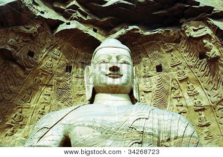 Yungang Buddhist Grottoes in China