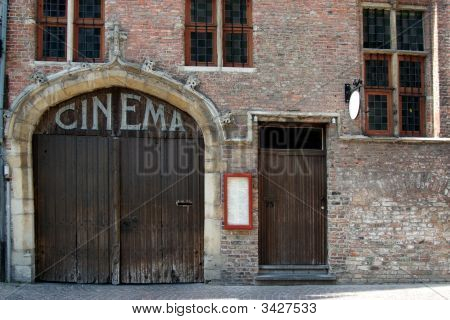 Old Cinema Facade