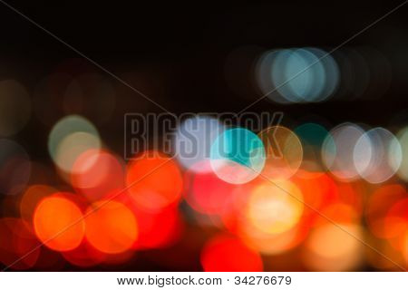 Multicolor Bokeh Lights
