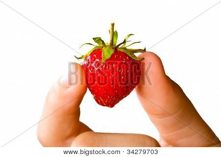 Juicy Ripe Strawberry