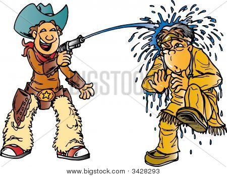 Cowboy Water Gun