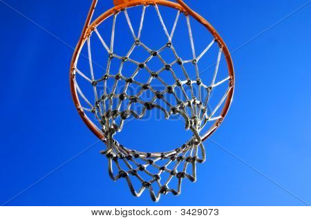 Basket And Net View