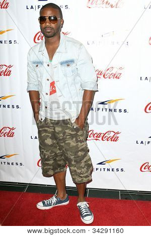 WOODLAND HILLS, CA - JUNE 02: Recording artist Ray J arrives at the grand opening of the LA Fitness Signature Club on June 2, 2012 in Woodland Hills.