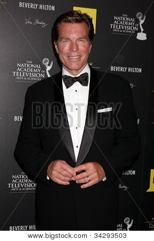 LOS ANGELES - JUN 23:  Peter Bergman arrives at the 2012 Daytime Emmy Awards at Beverly Hilton Hotel on June 23, 2012 in Beverly Hills, CA