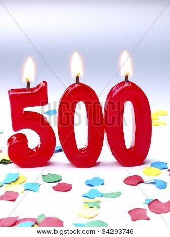500 Geburtstag.