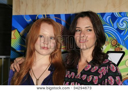 SANTA MONICA, CA - JUL 23: Lauren Ambrose, Parker Posey Fox Summer TCA Press Tour All Star Party at the Santa Monica Pier, Santa Monica, California on July 23, 2007
